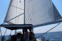 Corfu to Sicily sailing