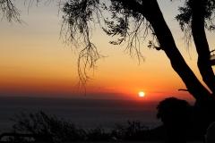 Sunset at Kaiser throne