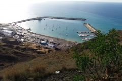 Porto Santos from above