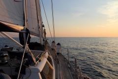 Corfu to Sicily boat