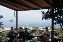 Aeolian view from Stromboli